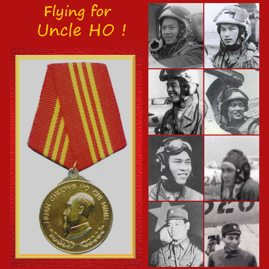VPAF Awards & Pilots for Wings over Vietnam