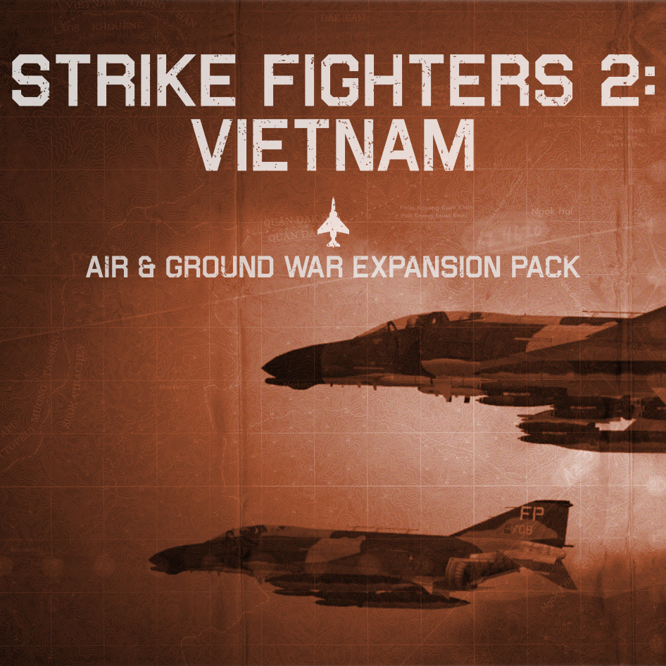 SF2: Vietnam Air & Ground War Expansion Pack Menu Screens