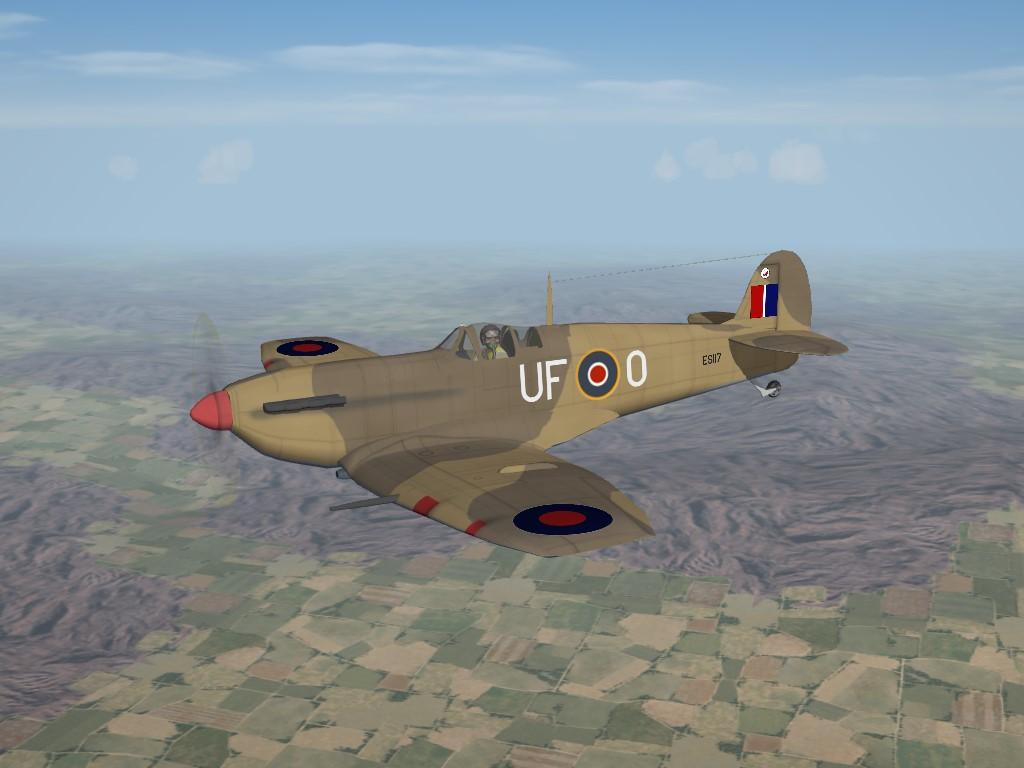 SF2 WW2 MTO Spitfire Mk.V LF Pak by Cocas