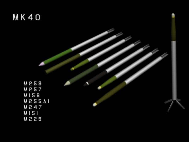 Mk40 FFAR Skin Update.