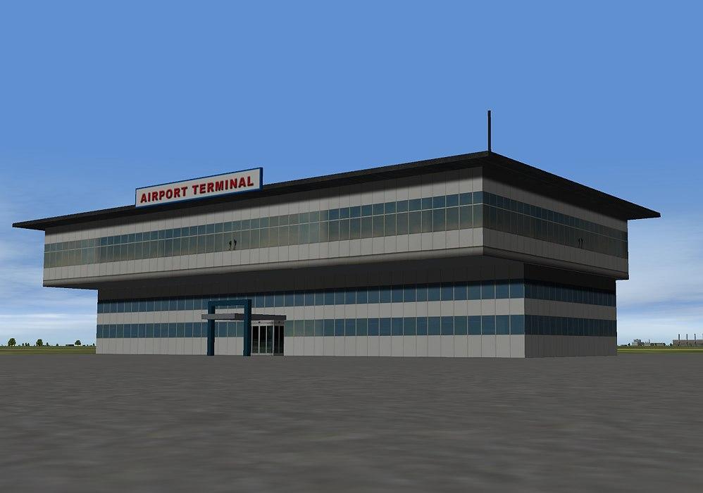 Airport Terminal ang big hotel