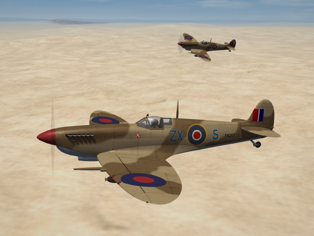 SF2 WW2 MTO Spitfire Mk.IX, Polish Fighting Team Skinpak