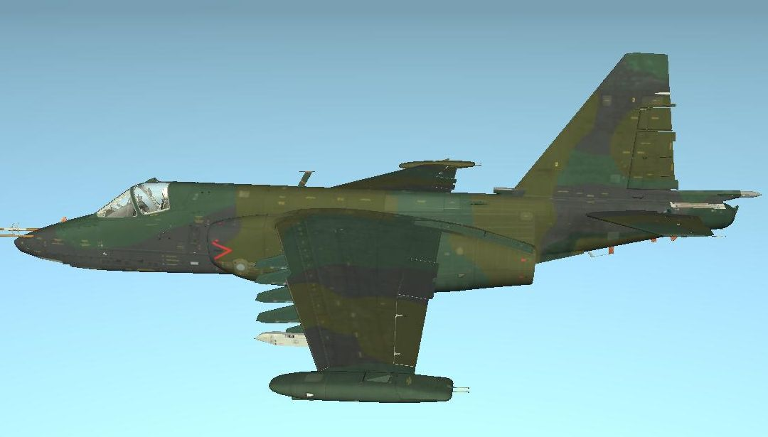 Su-25 European 1 Blank