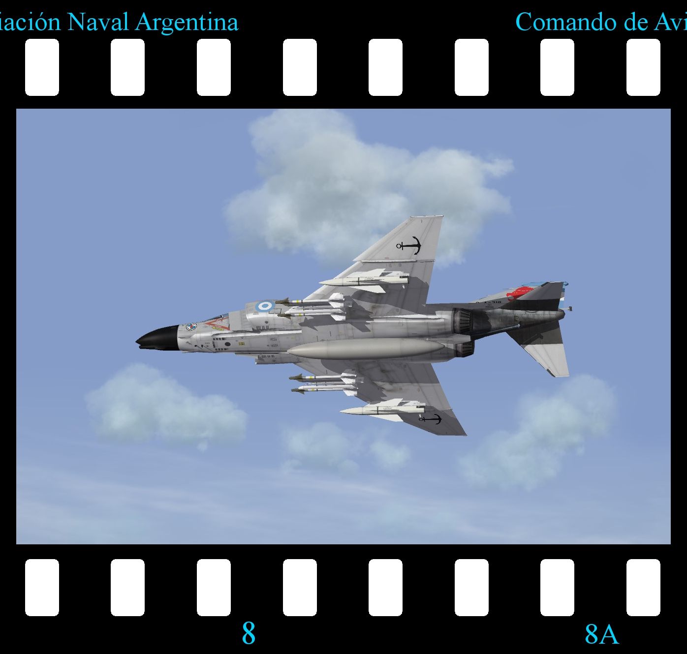 [Fictional] McDonnell Douglas F-4B Phantom 'COAN'