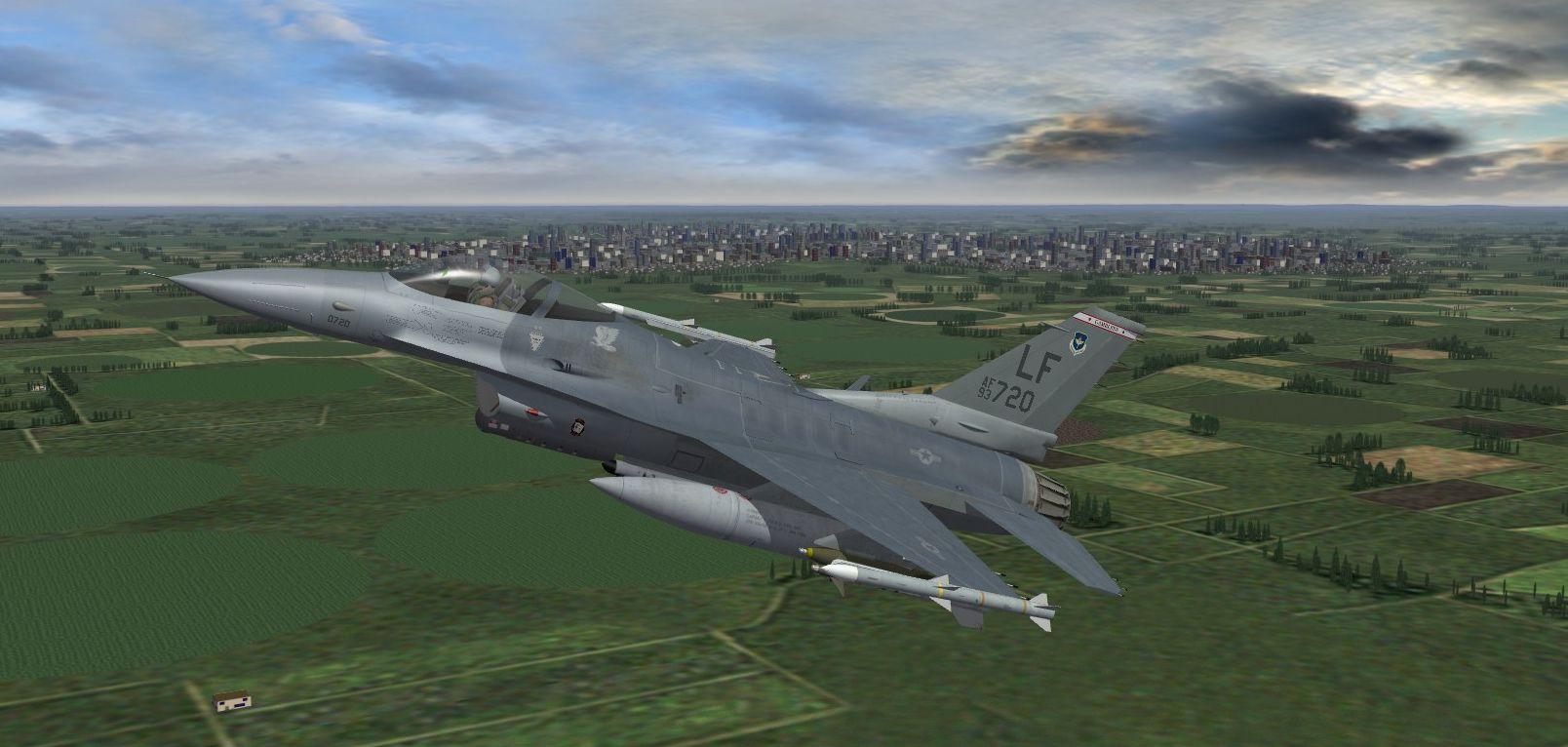56th FW Luke AFB, AZ for TMF F-16CBlk 40