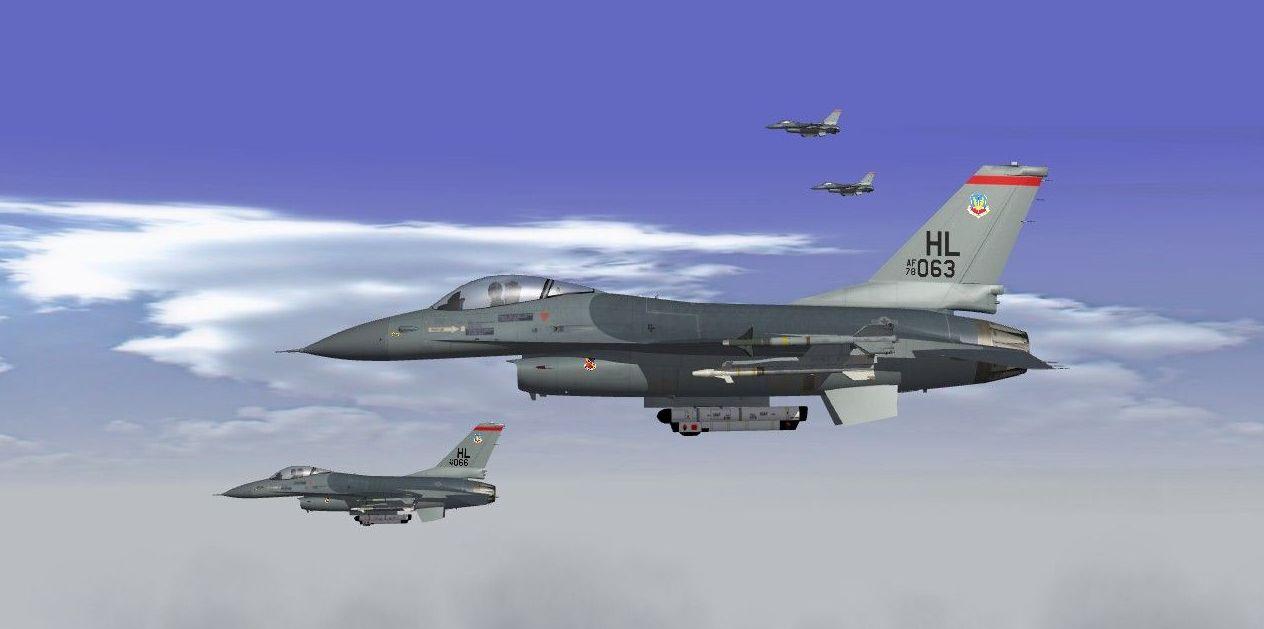 Updated F-16A Block 10