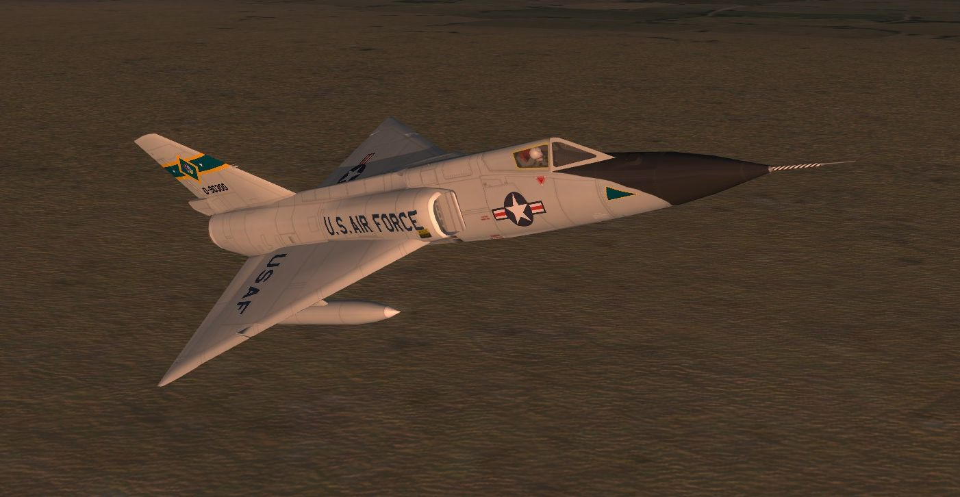 High Res F-106A Skins
