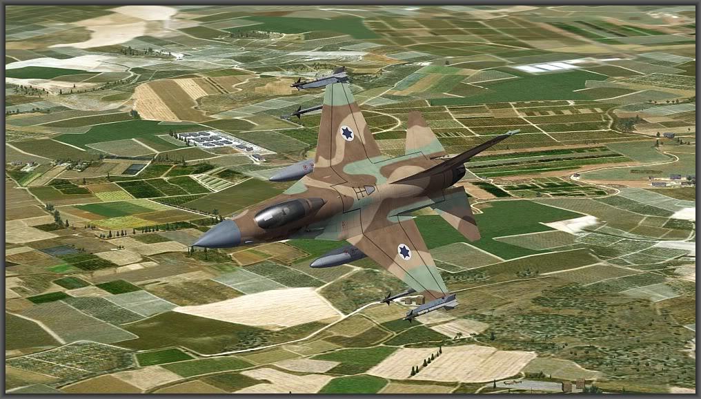 F-16A/B Netz for SF2:Israel