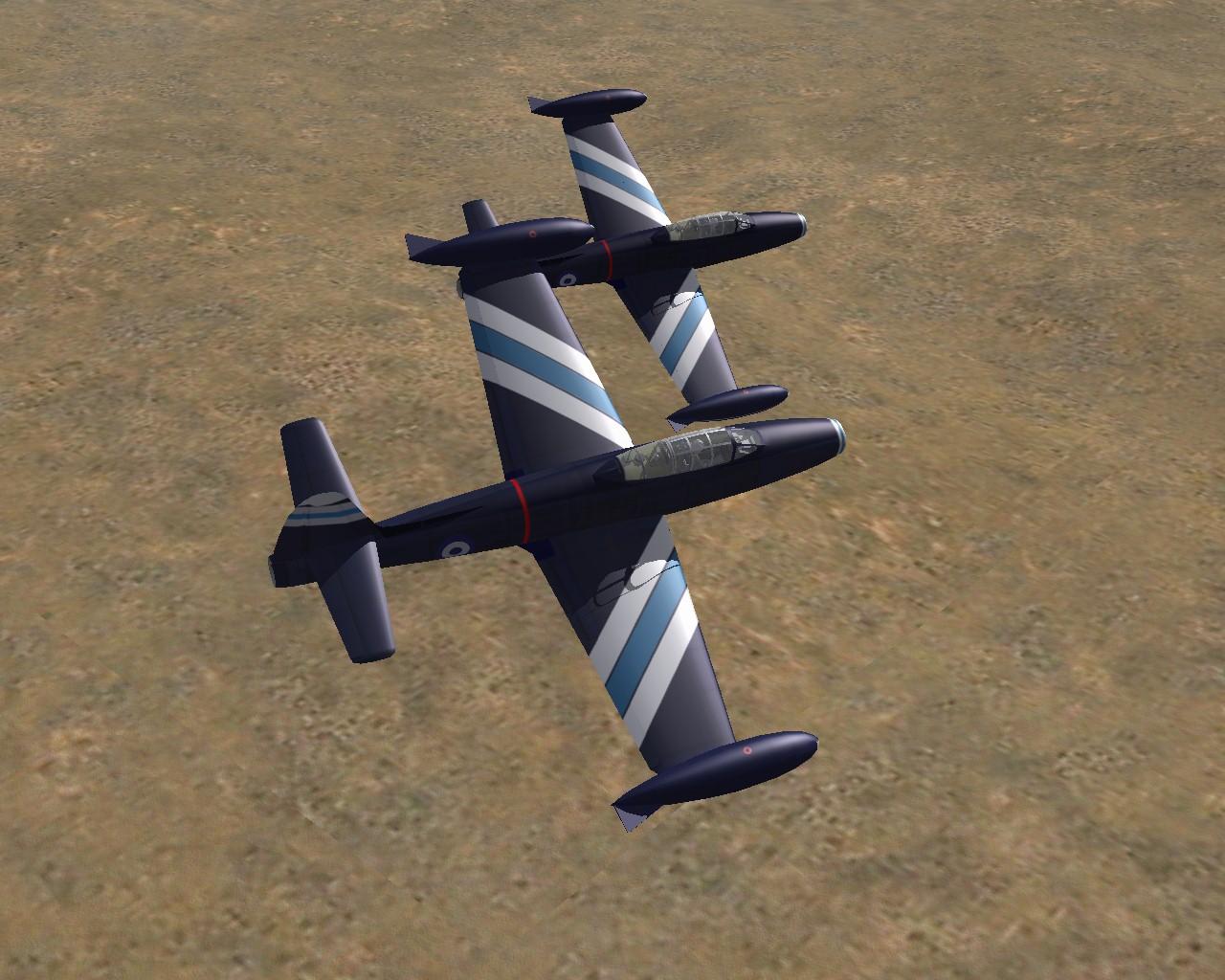 sf F-84G aerobatic team Greece