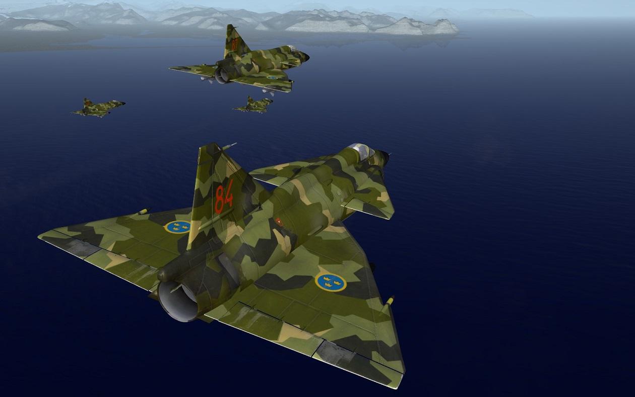 TSF Saab 37 Viggen(*) Flygvapnet Package