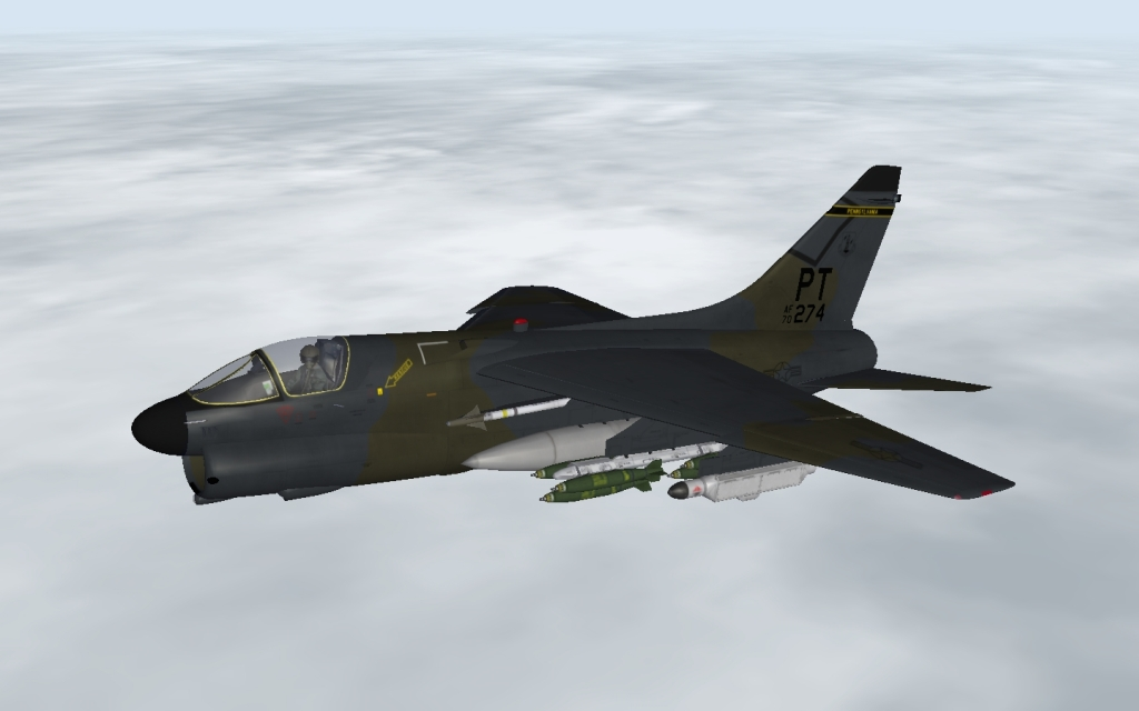 Mirage Factory A-7D Corsair II