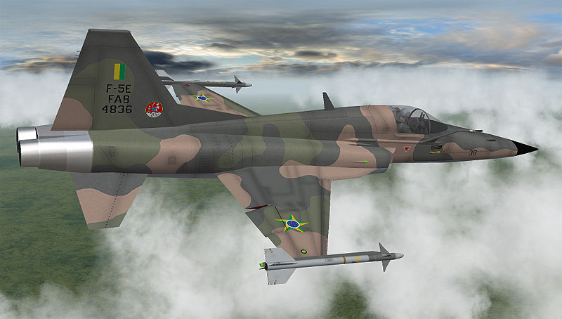The Mirage Factory MarcFighters F-5EBR Tiger II