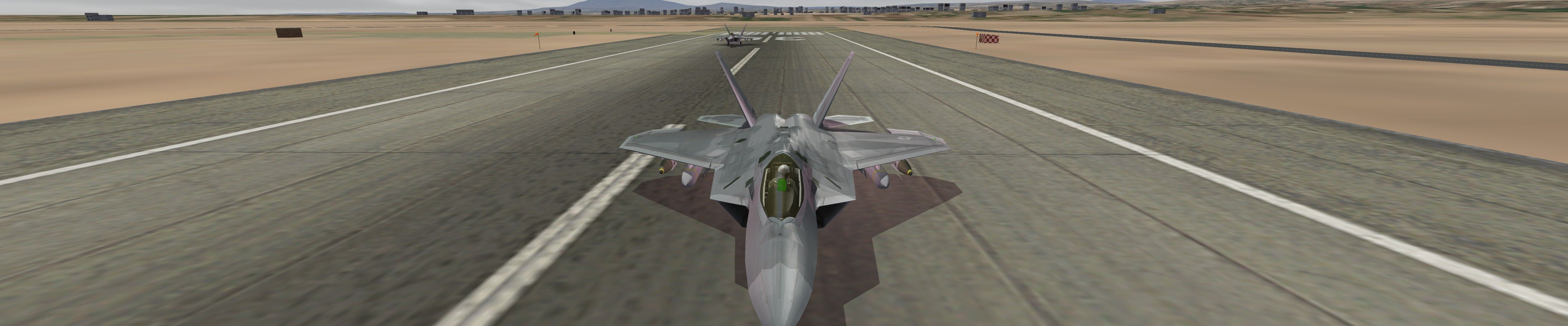 F-22A Raptor Version 2.1 For SF2 Series