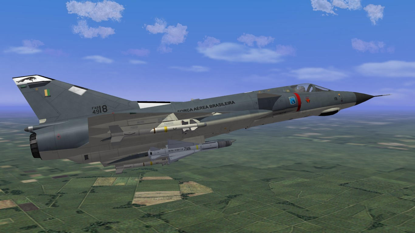 F-103E and F-103D - Mirage III Brazilian Air Force PACK