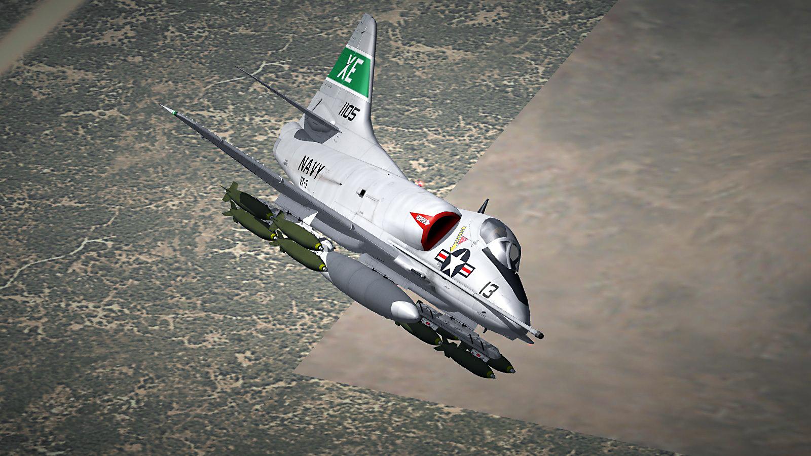 VX-5 A4D-2 (A-4B) Skyhawk