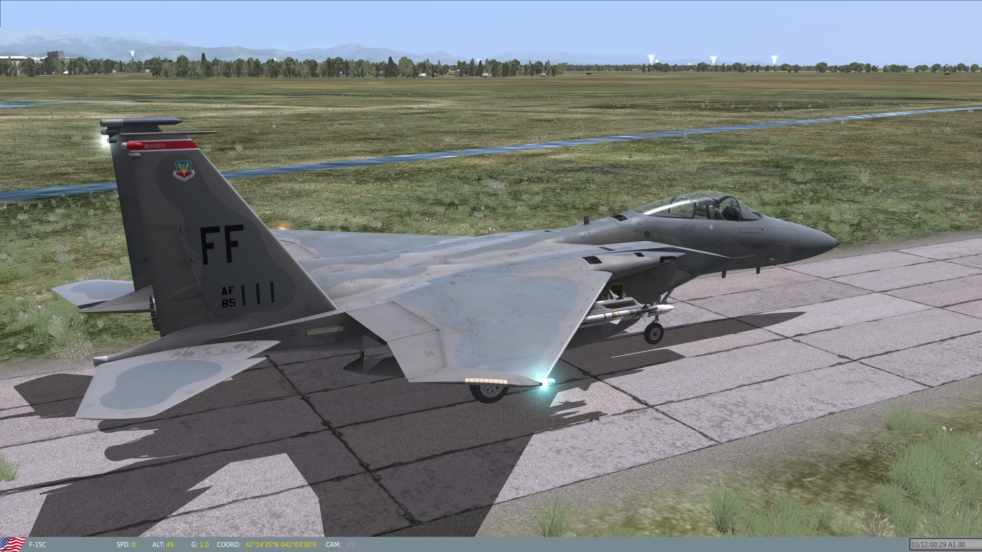 Flaming Cliffs 3 F-15 Skins