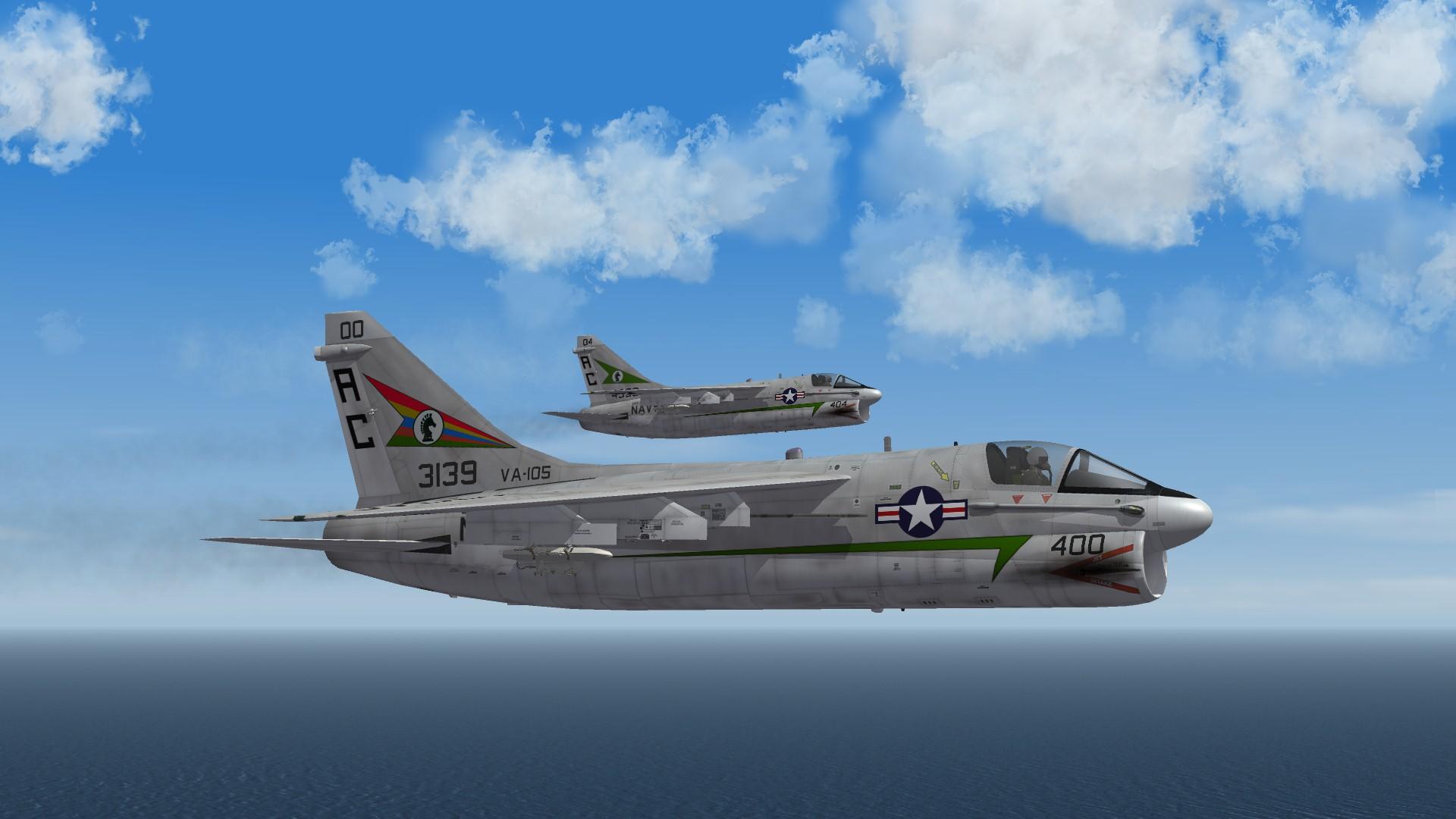 A-7A VA-105 Skin