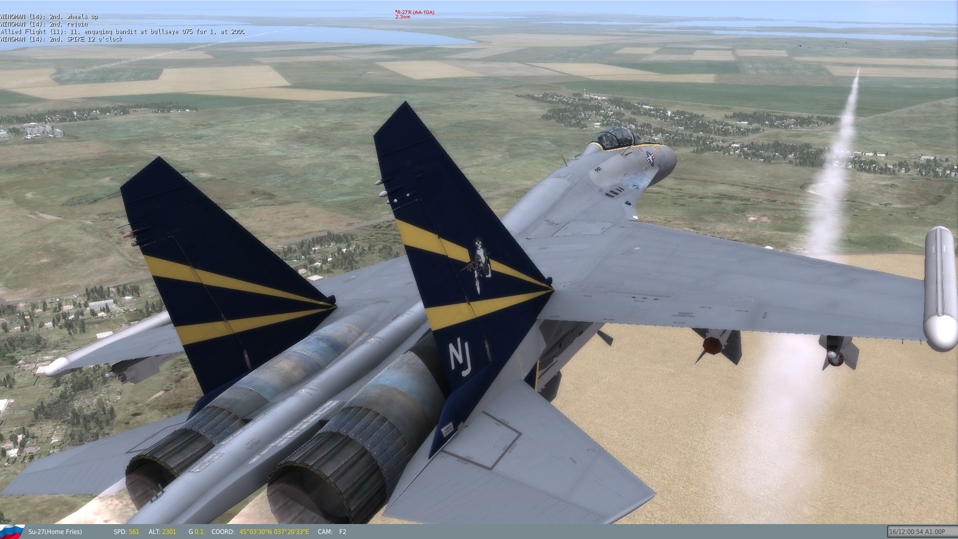 Su-27 Fictional Skins: US Navy Fighter Squadrons (Volume I)