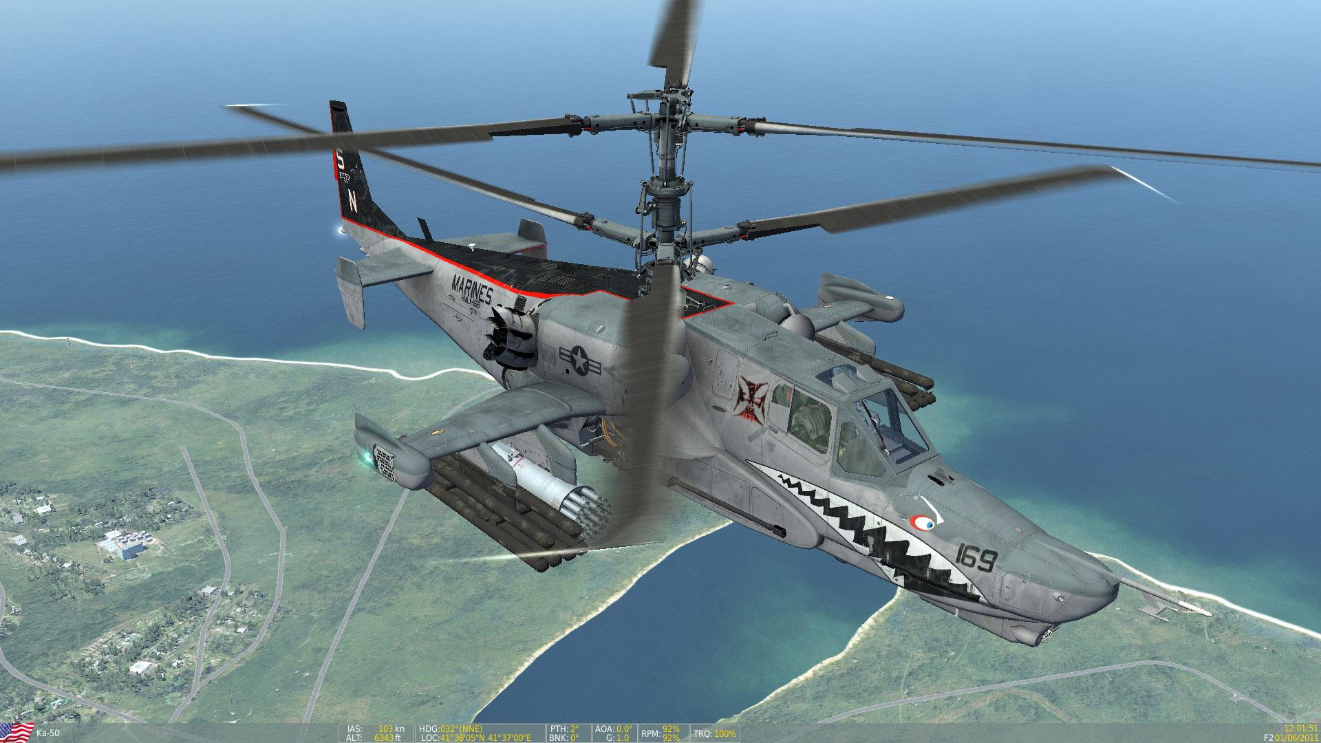 "Ka-50 USMC HMLA-169 ""Vipers"" Skin Pack"