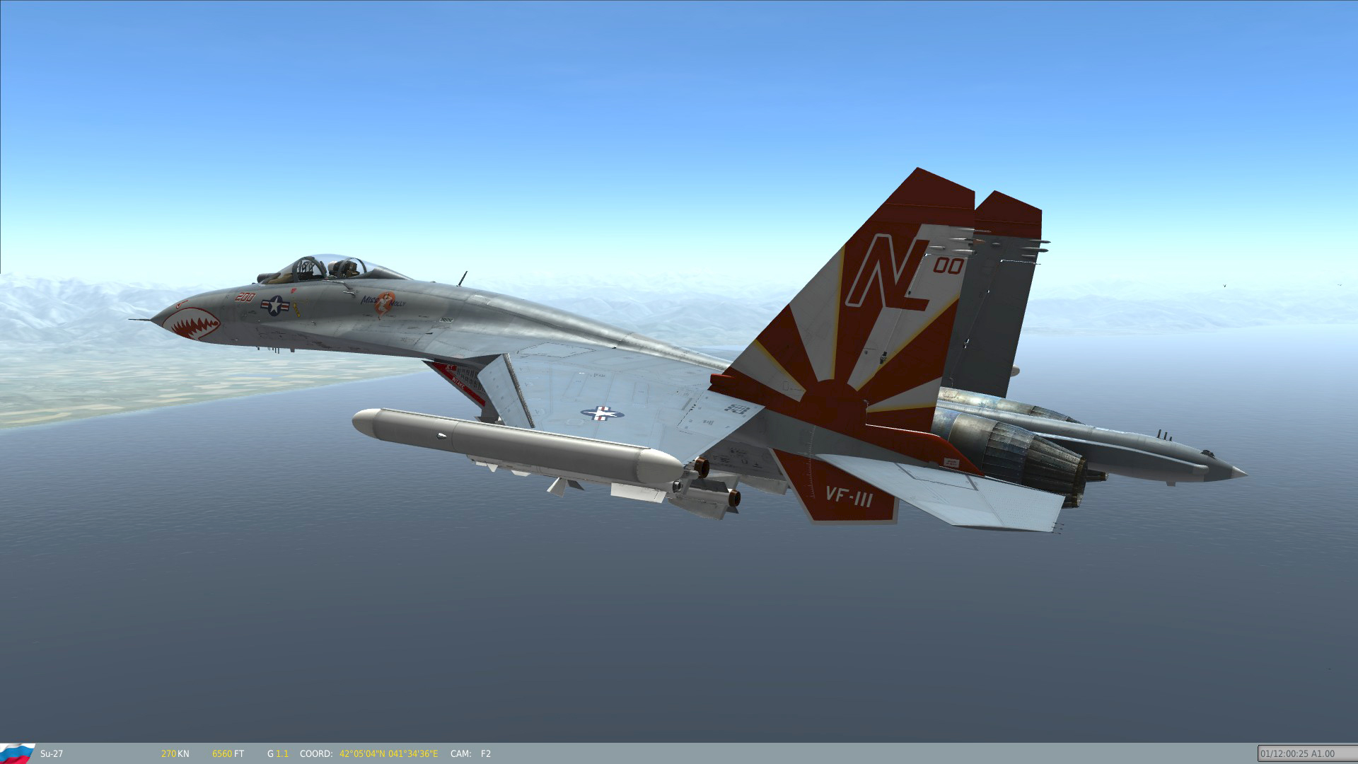 Su-27 Fictional Skins: US Navy Fighter Squadrons (Volume II)