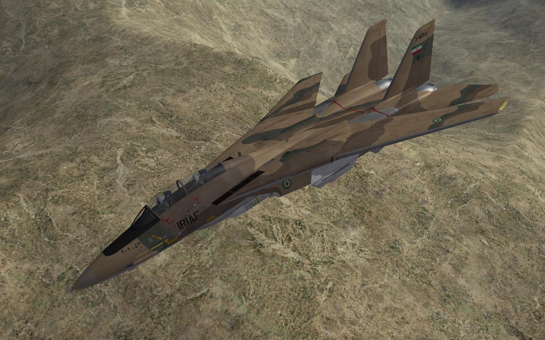 F-14A Tomcat over Iran. SF2.