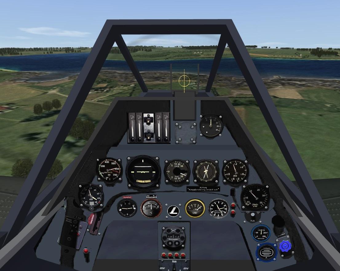 Repaint Wolf Fw 190 Cockpit v1.0