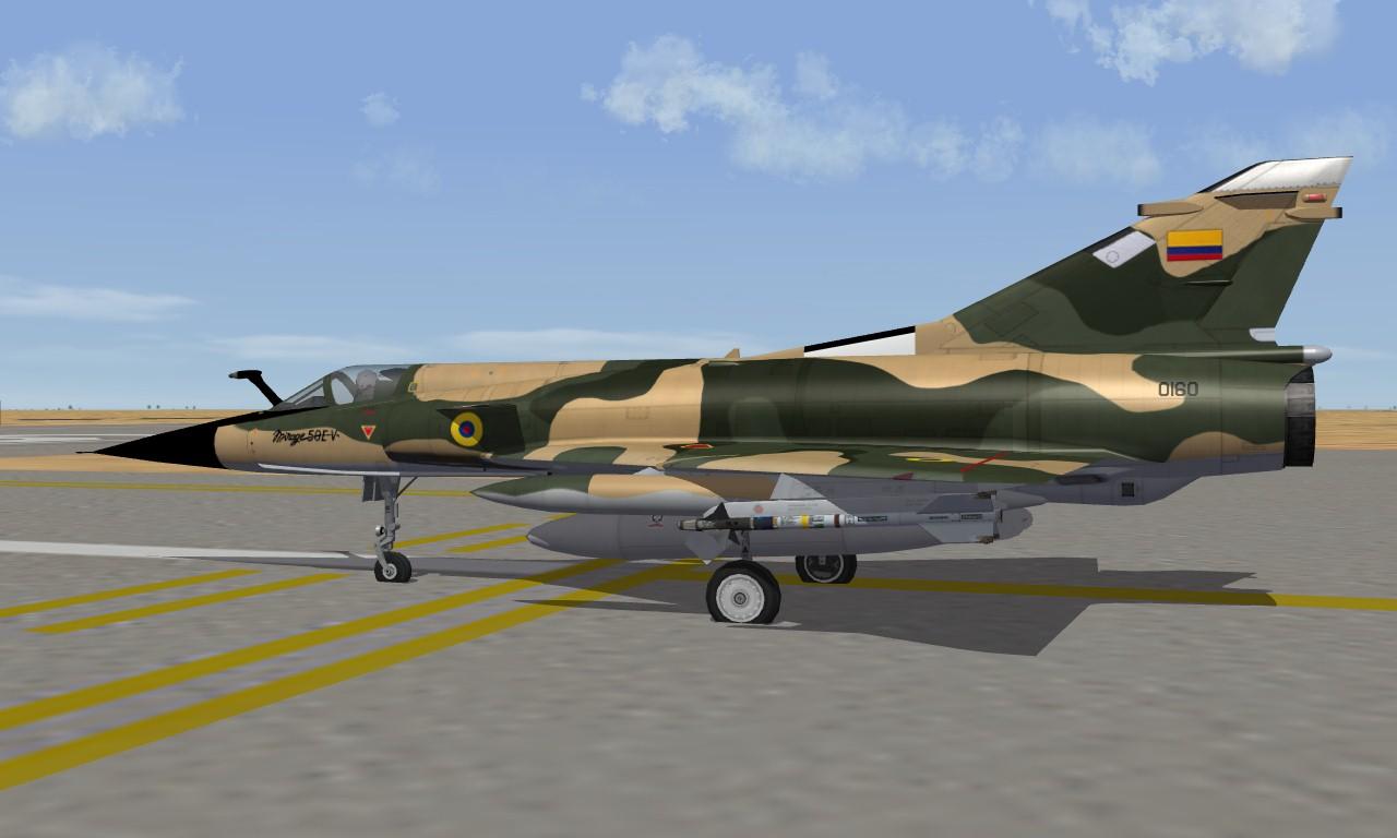 Mirage 50E(E) Ecuador Air Force