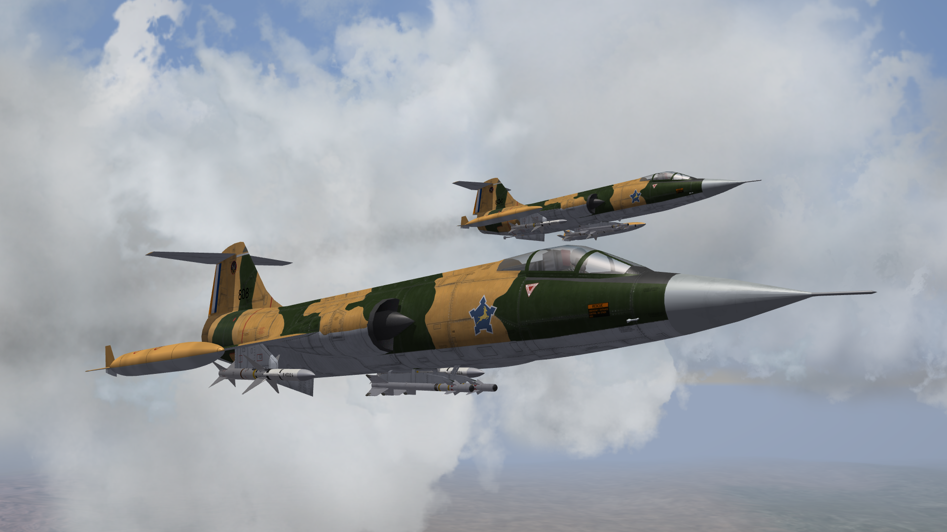 [Fictional] Lockheed F-104GZ for STRIKE FIGHTERS 2