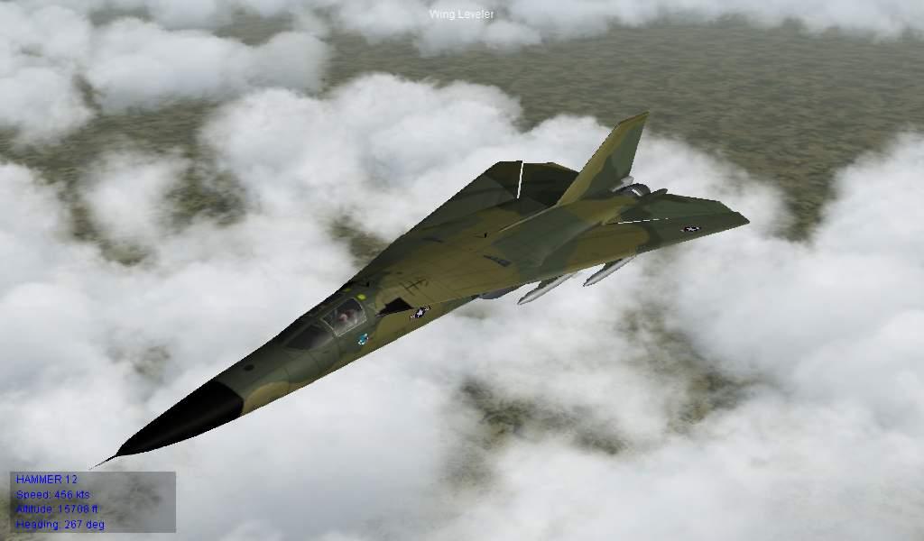 FB-111A Early SAC camo