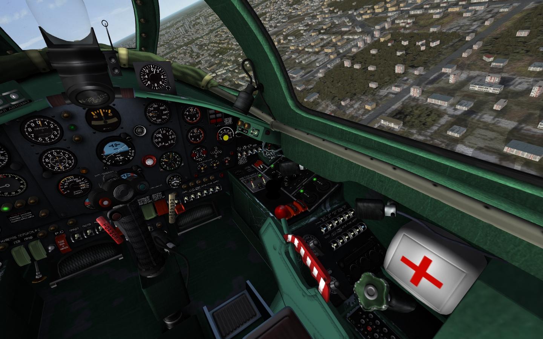 Yak-28B cockpit