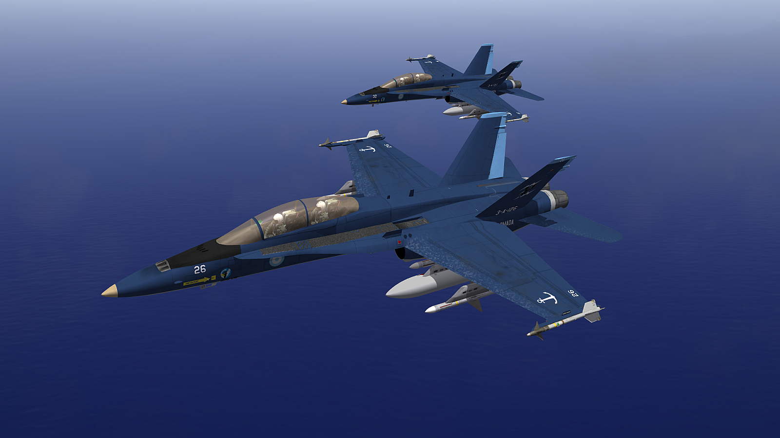 [Fictional] F/A-18 Argentine Navy Skin