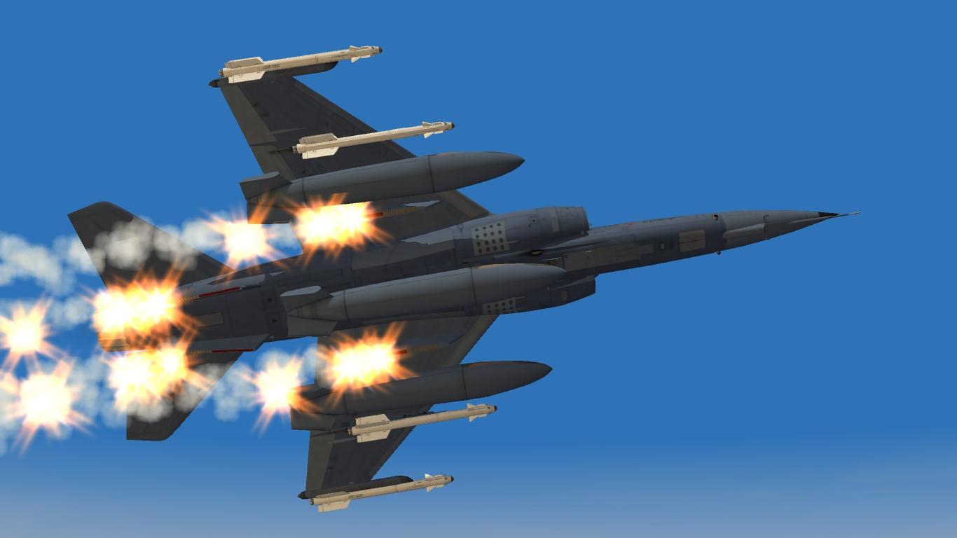 Super Mirage F1AZ - Thirdwire: Strike Fighters 2 Series