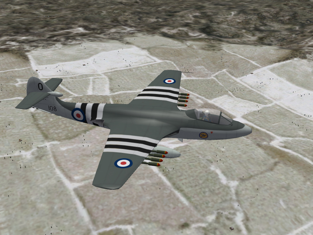 "Seahawk F.1A, ""What If..."" Korean War Mod"