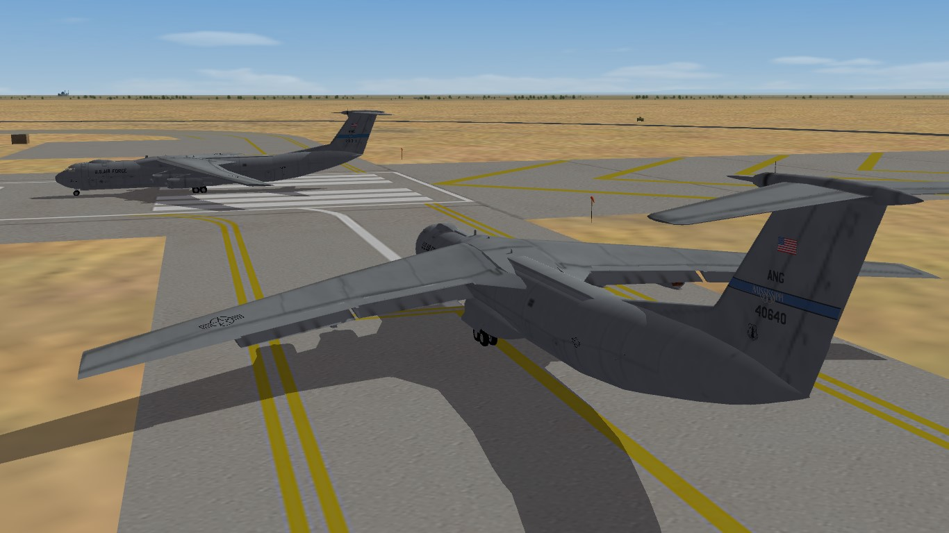 Upgrade and Skinpack For Veltro2K's C-141B