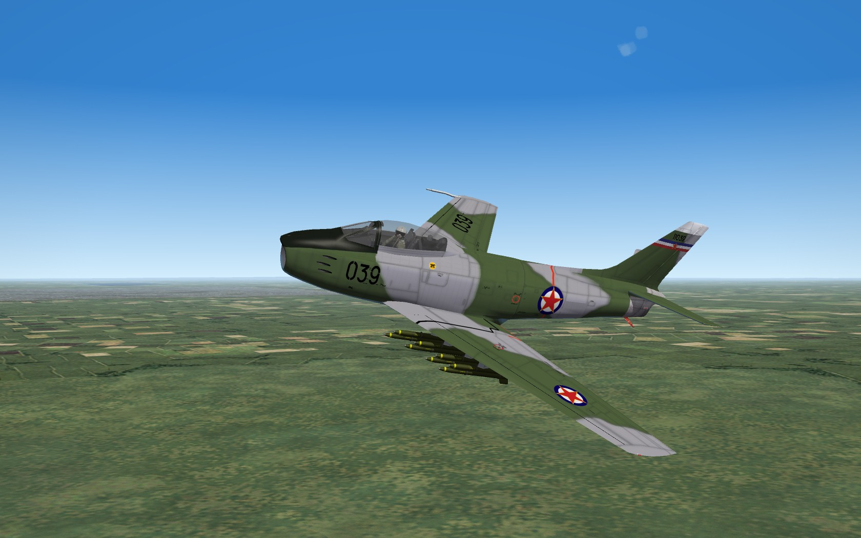 F-86E Sabre - US Red Star  Vol. 2