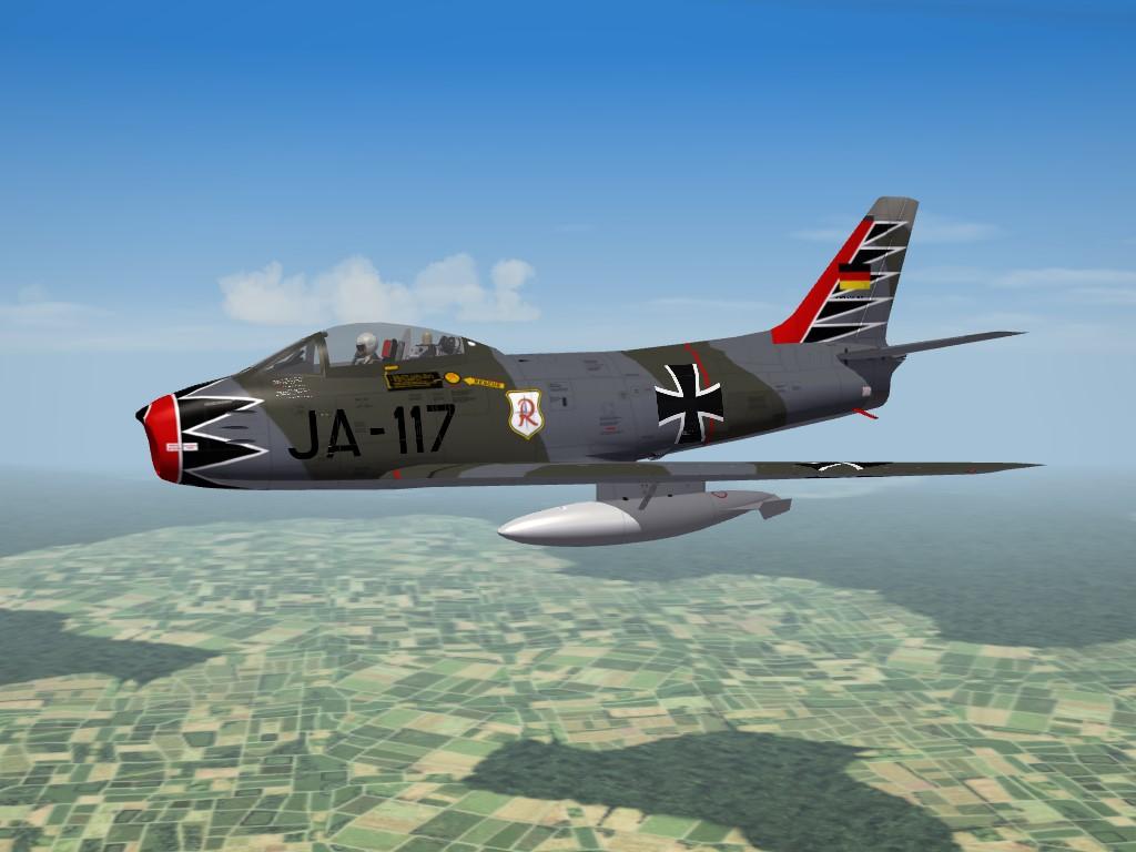 Canadair CL-13B Mk6 Sabre late -SF2-