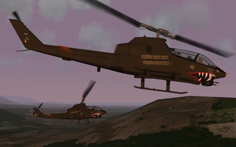 AH-1G Cobra  Over Vietnam ver.2016