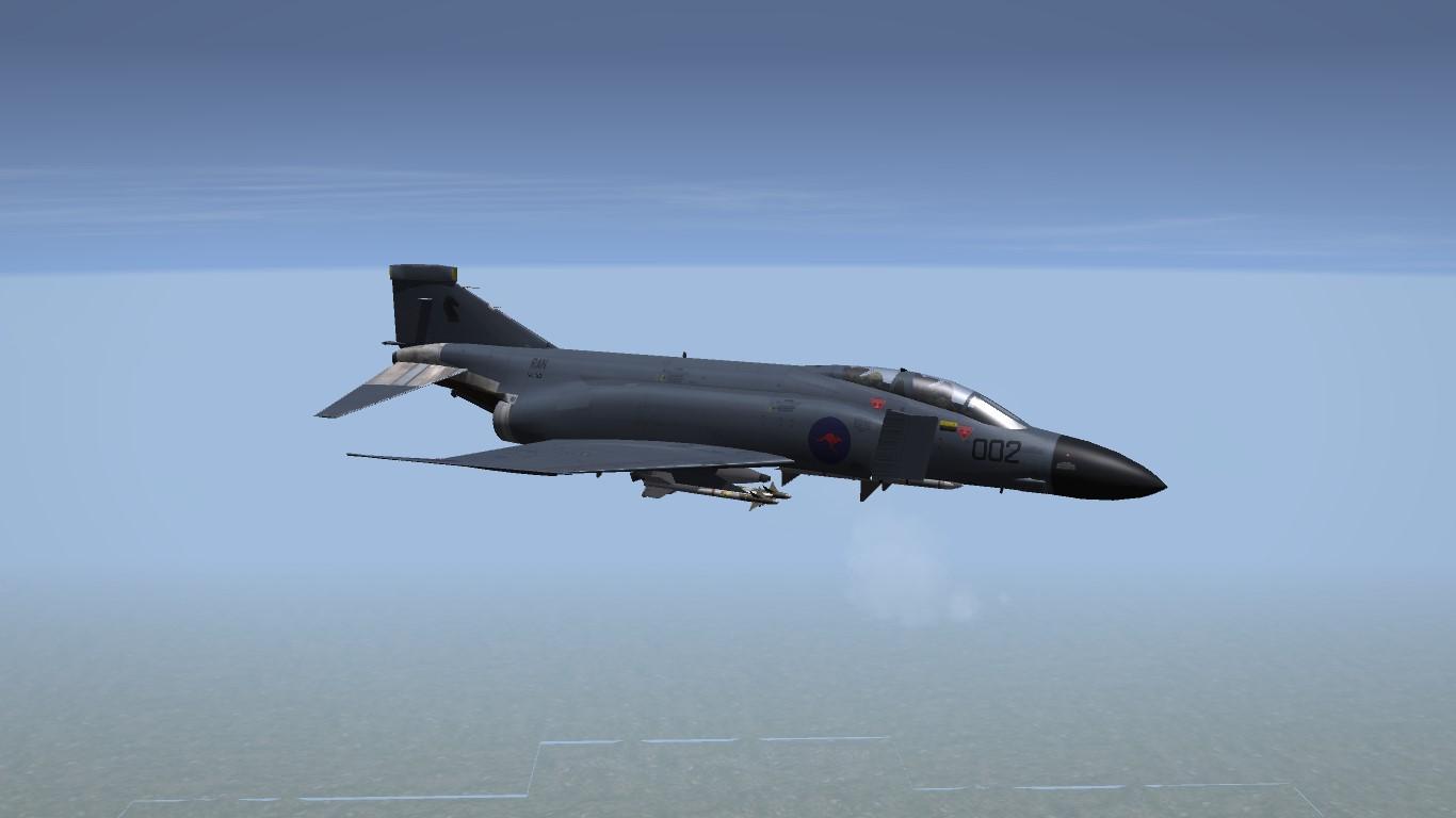 McDonnell F-4K Phantom FG.21 - Royal Australian Navy - British style
