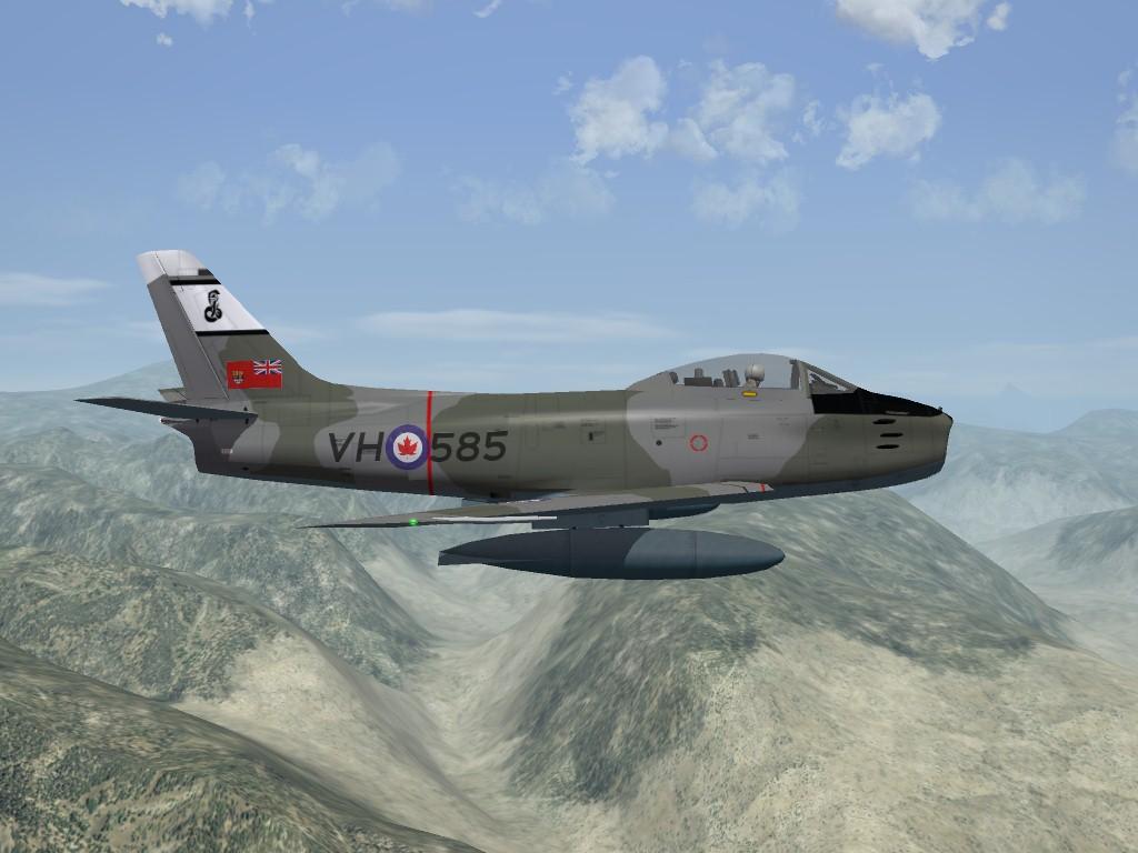 SF2 Canadair Sabre Mk.6, RCAF and AMI