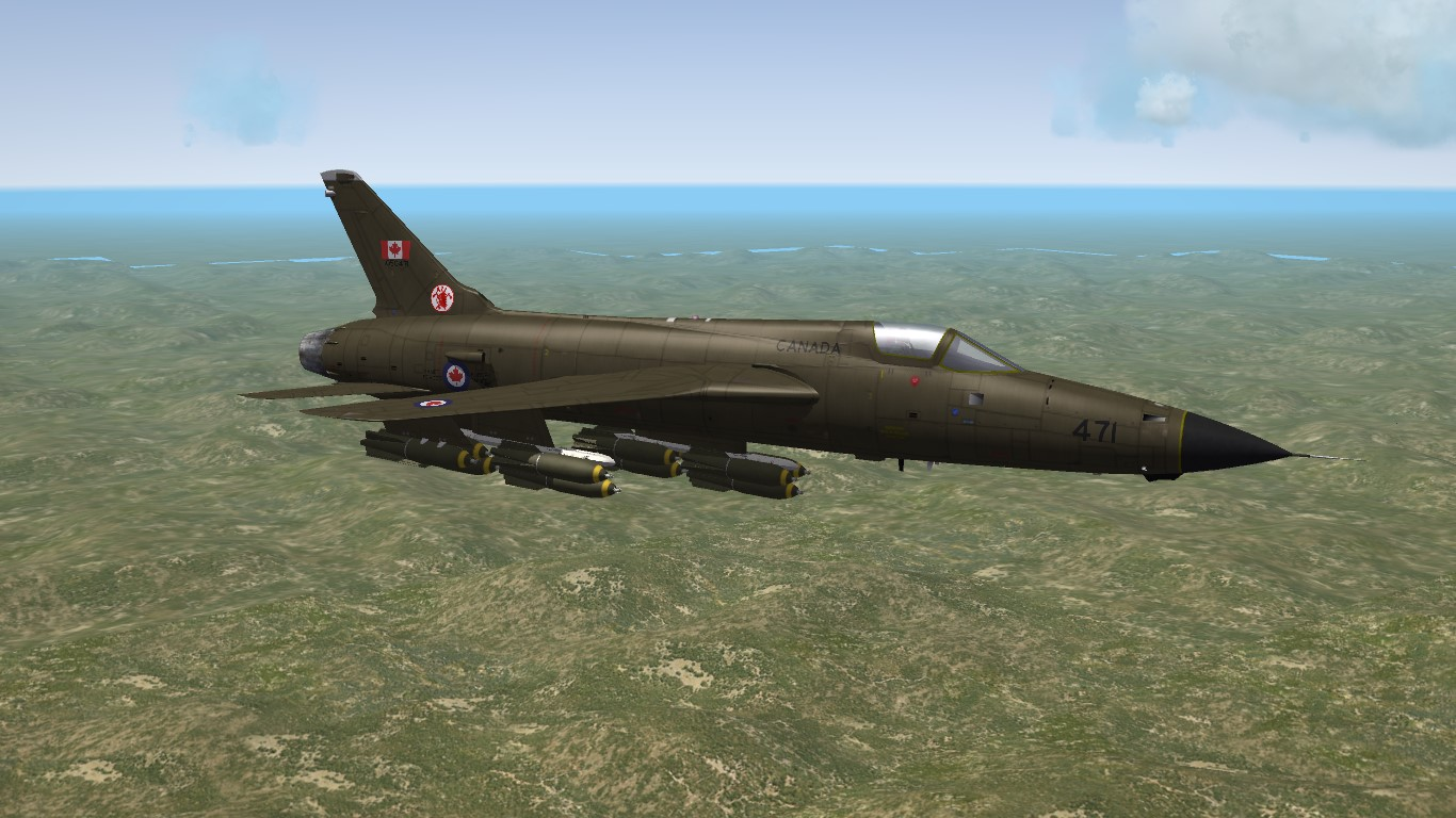 The Other CF-105 (CF-105 Thunderchief)