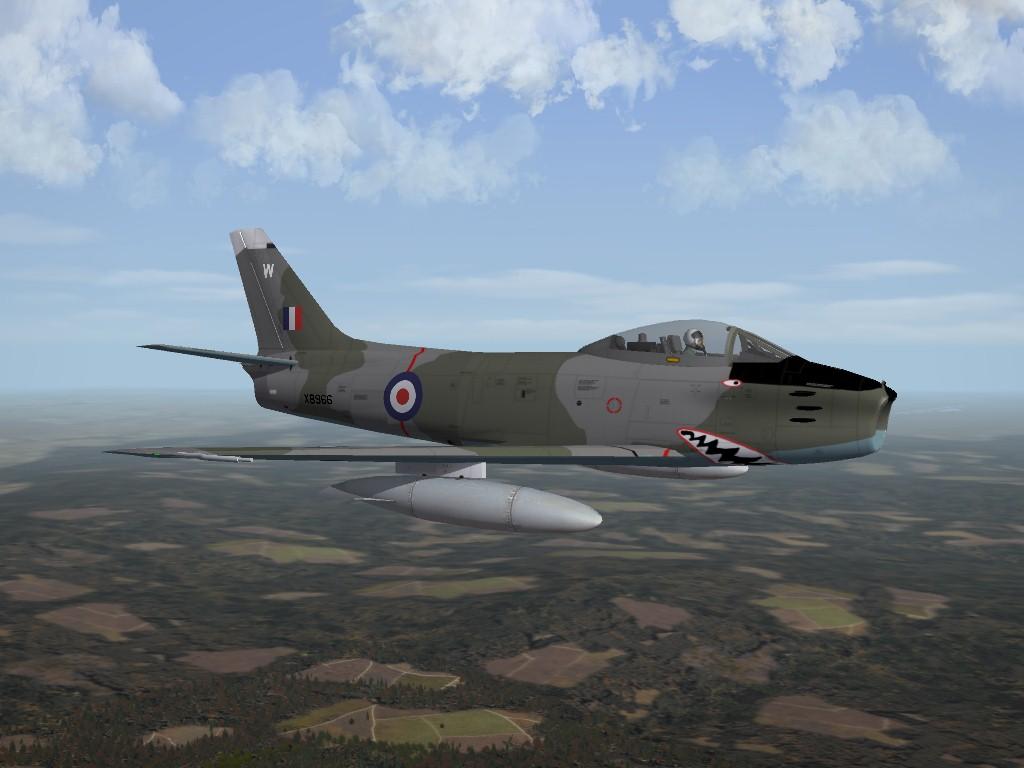 Canadair Sabre Mk.4 Pack, for SF2