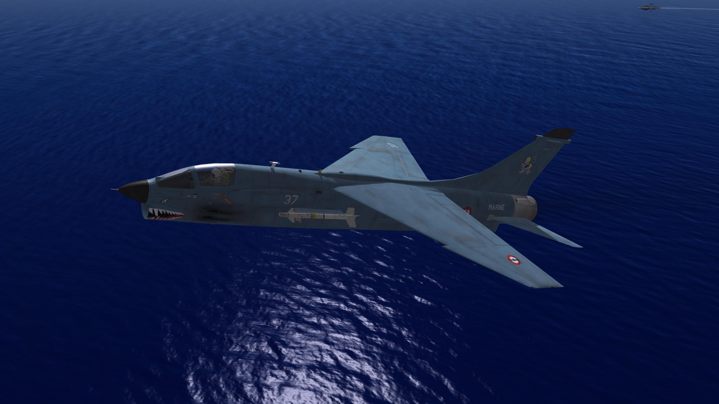 F-8E(FN) Crouze & F-8P(FN) Crouze Prolongé