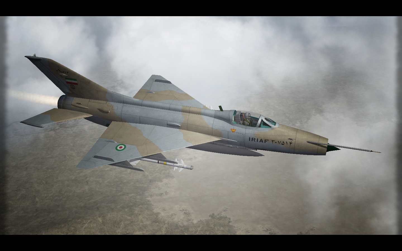 F-7N Airguard Over Iran. SF2.