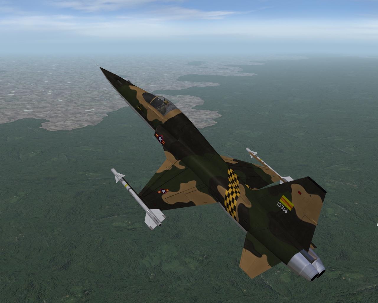 F-5A South Vietnam Air Force (VNAF) skin