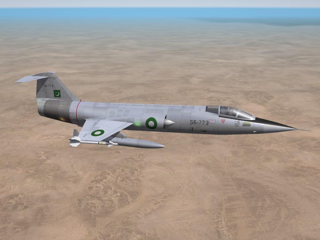SF2 DLC #28: F-104A Starfighter, Pakistani Air Force