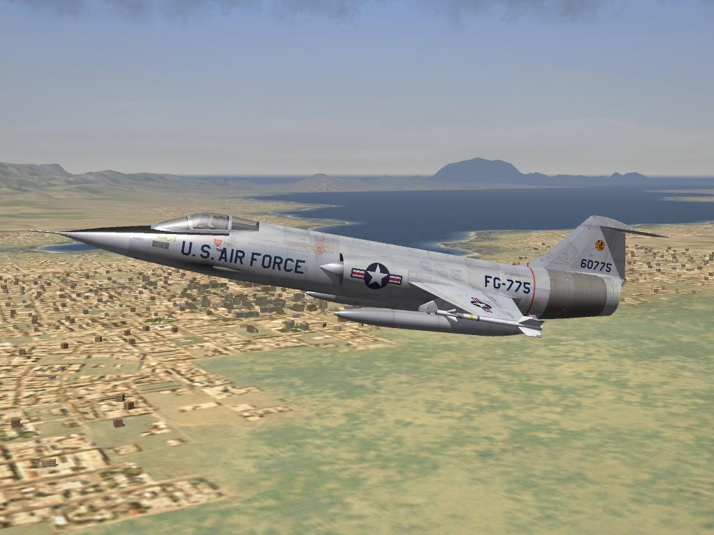 SF2 DLC #28: F-104A Starfighter Skins Pak, Part 2