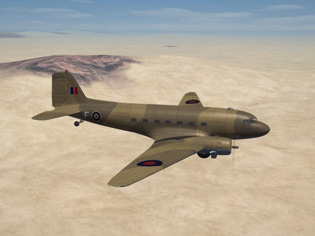 SF2 WW2 RAF Douglas Dakota Skin Pak