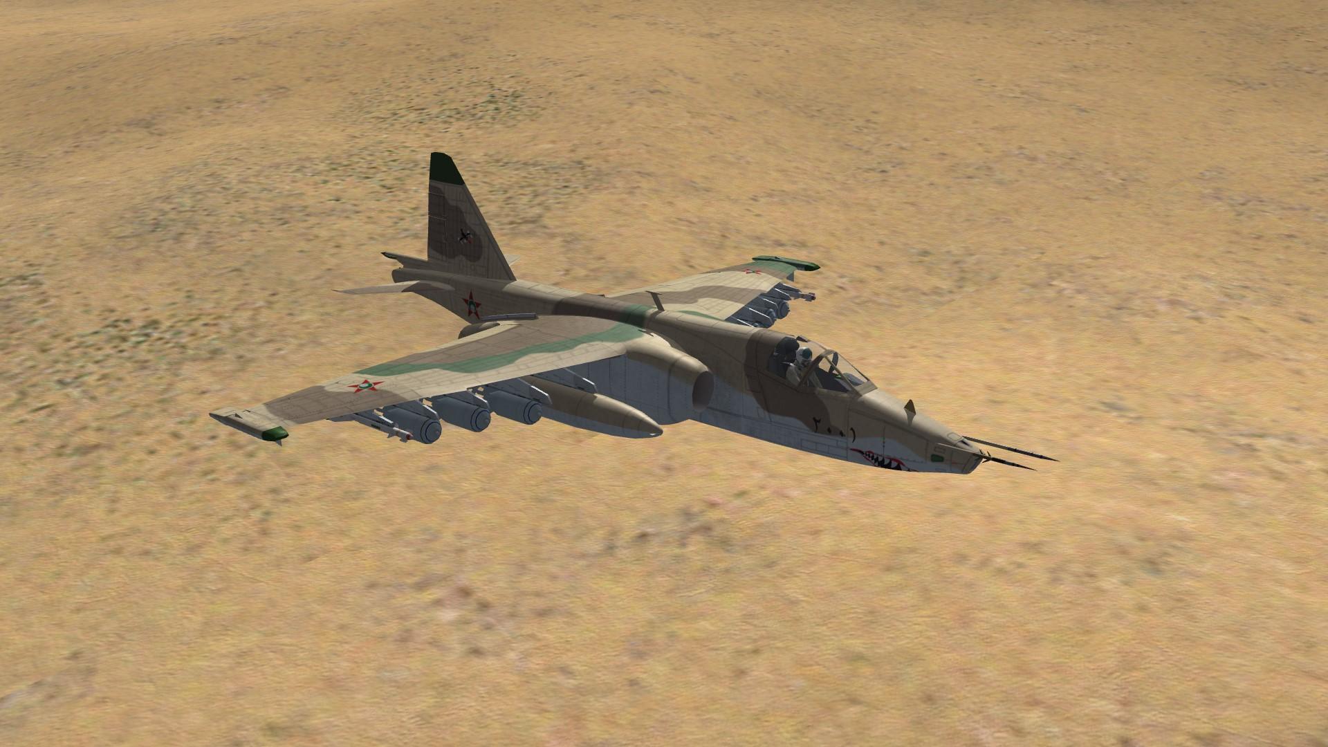 Su-25 Paran Air Force
