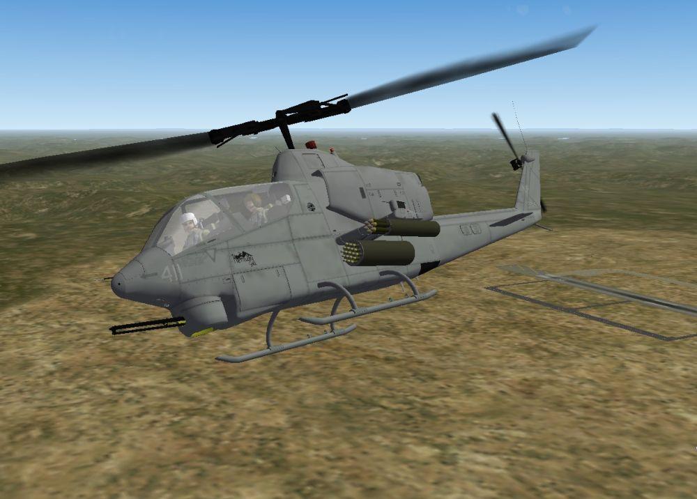 AH-1J Sea Cobra SF1