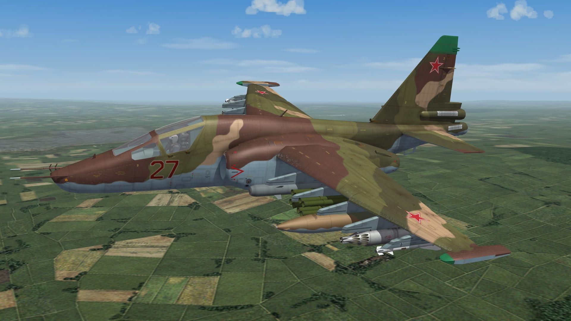 Sukhoi Su-25T Tankovy & Su-25SM Frogfoot for SF2